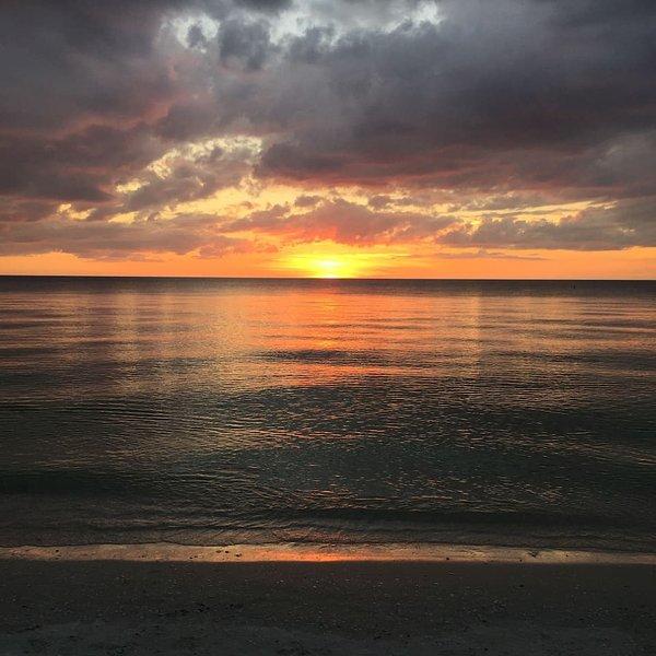 Hermosas puestas de sol de Florida