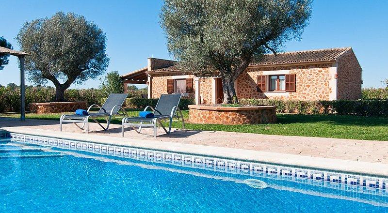 Finca Son Sea Villa, Campos - Mallorca, alquiler de vacaciones en Campos