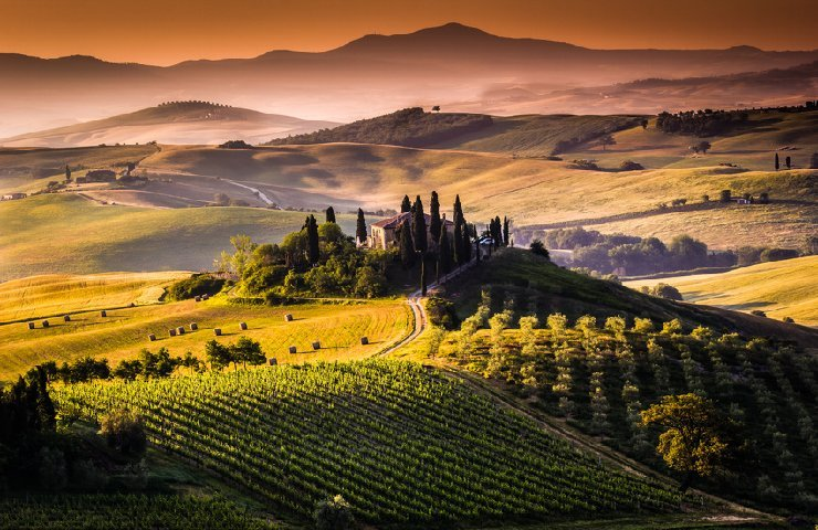 Val d'Orcia view (SI) - Italy