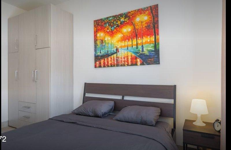 Schlafzimmer 2 beleuchtet sehr GRD Bettlaken zur Verfügung gestellt