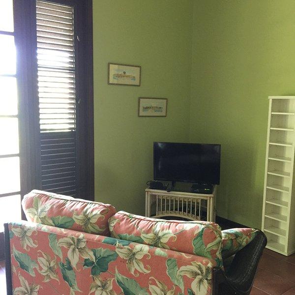 Salon avec télévision