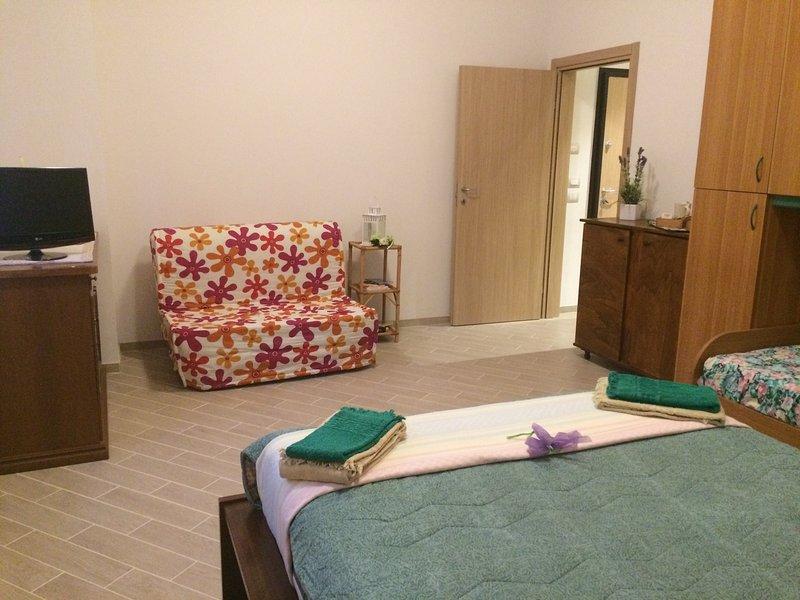 Camera con bagno privato, holiday rental in Longara