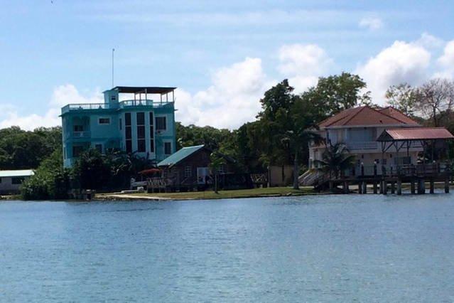 Vue sur Voir le Belize Sea View Penthouse de la mer des Caraïbes