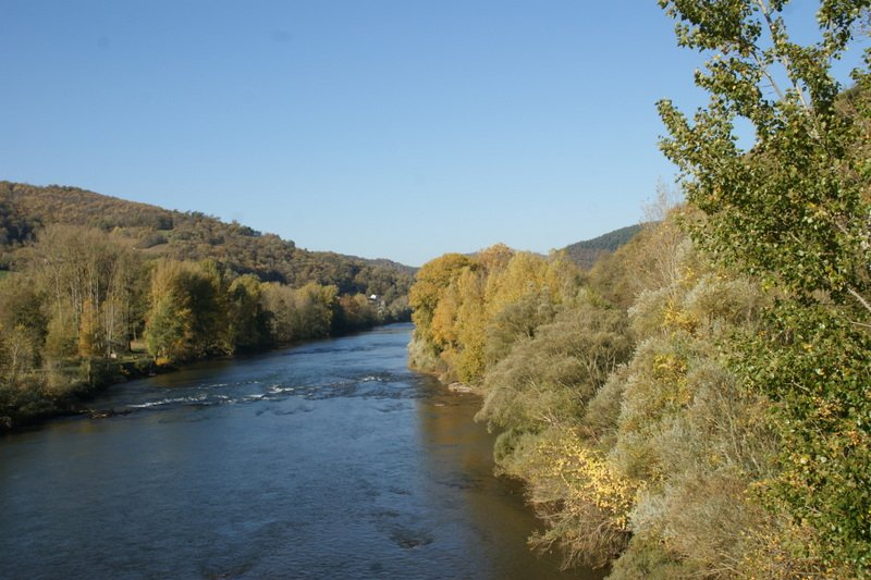 El río Tarn a 800 metros