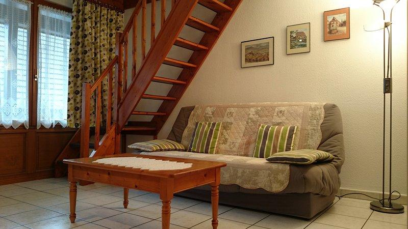 Gîtes-Weyer Appartement n°1, holiday rental in Bergheim