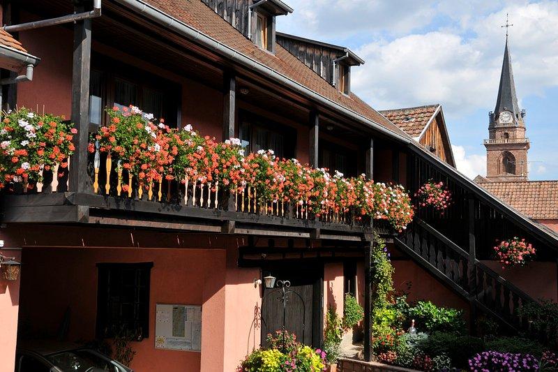 Gîtes-Weyer Appartement n°2, holiday rental in Bergheim