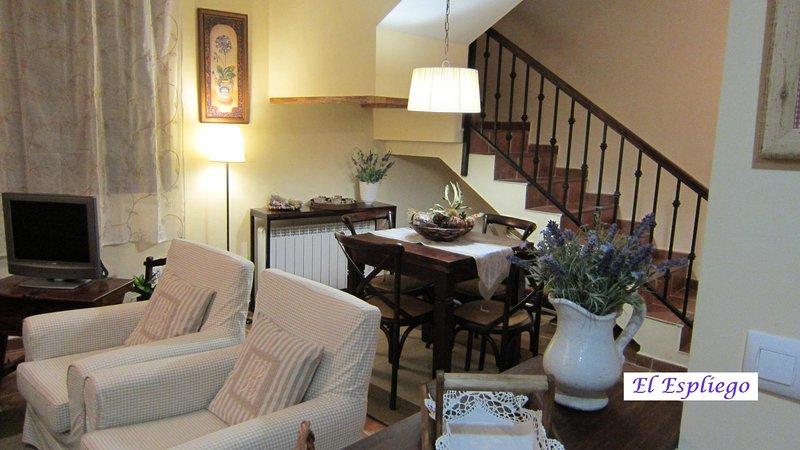 Apartamento-Duplex  'El Espliego' Candelario (Salamanca). Nº Registro: 37/000175, vacation rental in Hervas