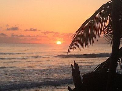 Sunset from Backyard