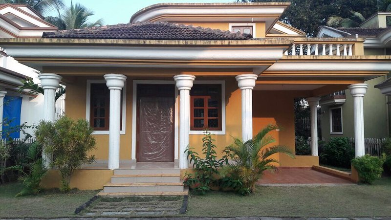 Friendly villa in Saudades, Majorda, South Goa, India