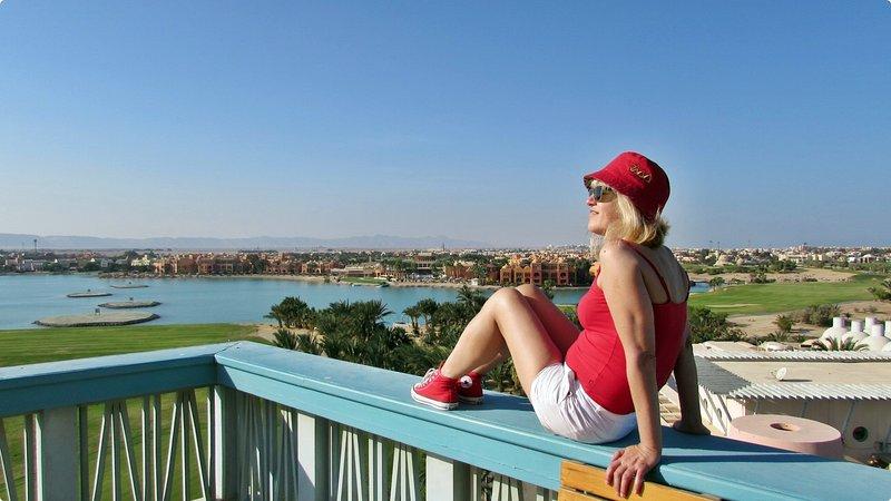 Herzlich Willkommen in unserer wunderschönen Ferienwohnung El Gouna,West Golf 2., holiday rental in El Gouna
