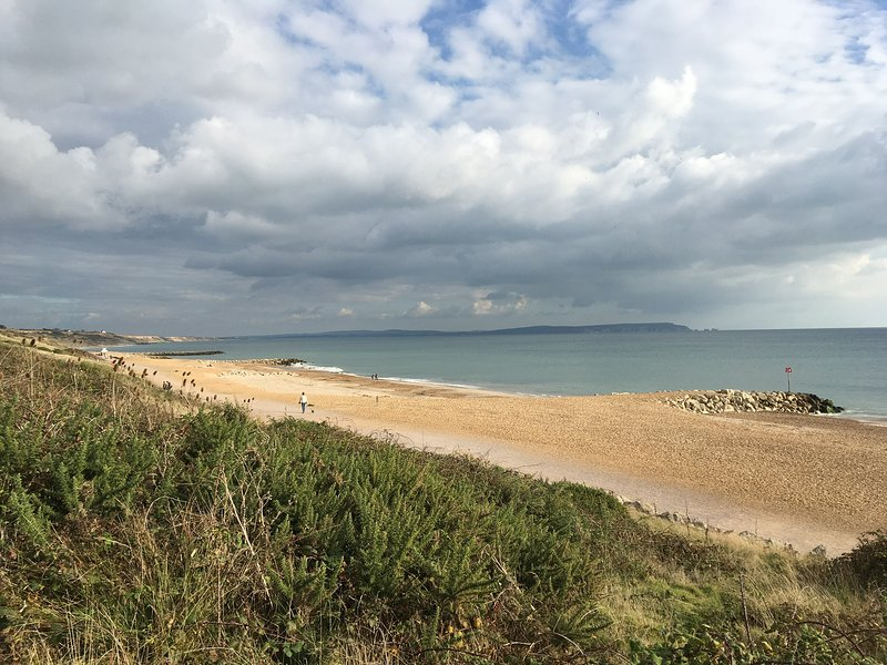 Highcliffe beach December