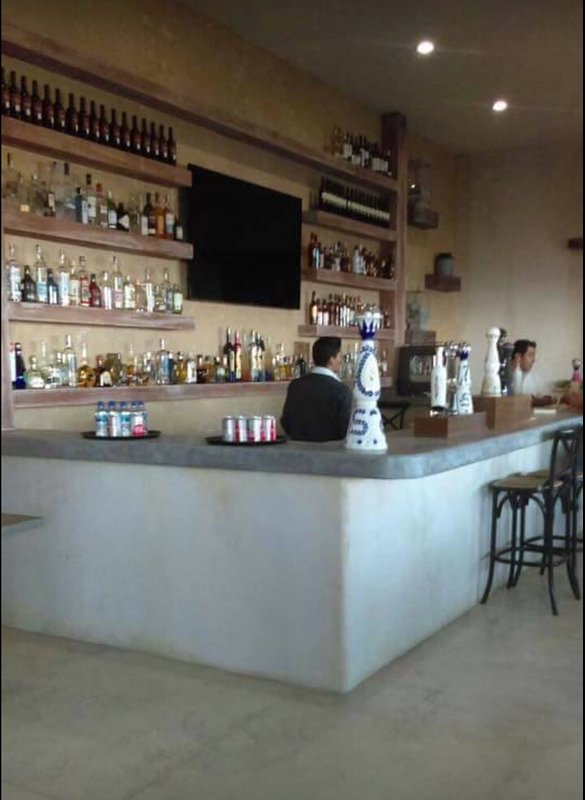 The Club bar...Cheers!