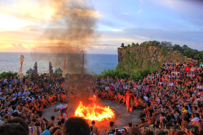Kecak dance. Our driver can take you to do tours/excursions (surcharge).
