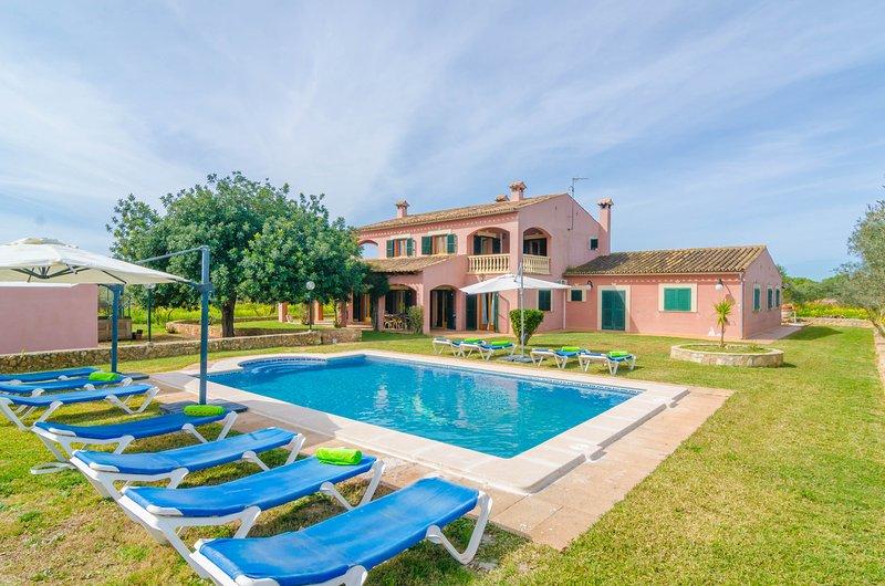 CASA CAMPILLOS - Villa for 10 people in Llucmajor, holiday rental in Son Antem