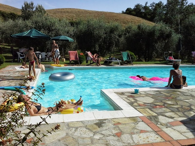 Apartment Spiga, 3 Bedroom apartment in the Heart of Tuscany Hills, holiday rental in Volterra