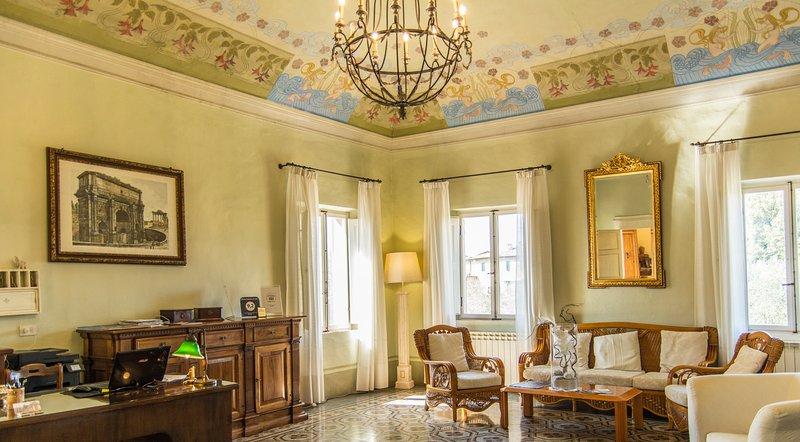 Palazzo di Valli, casa vacanza a Taverne d'Arbia