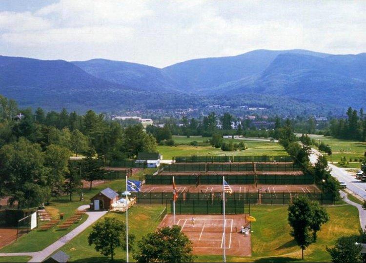 geweldige tenniscentrum