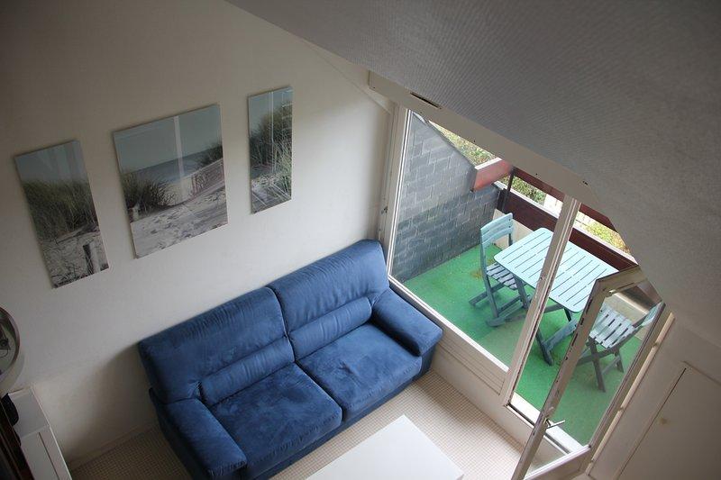 tropezienne salão e terraço