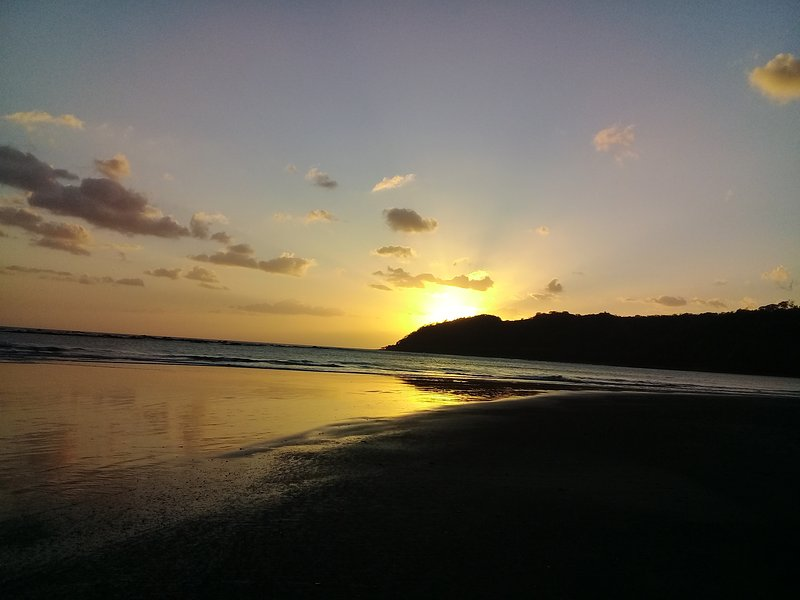 After a full day of fun and adventure enjoy special western sunset to your right facing the ocean.