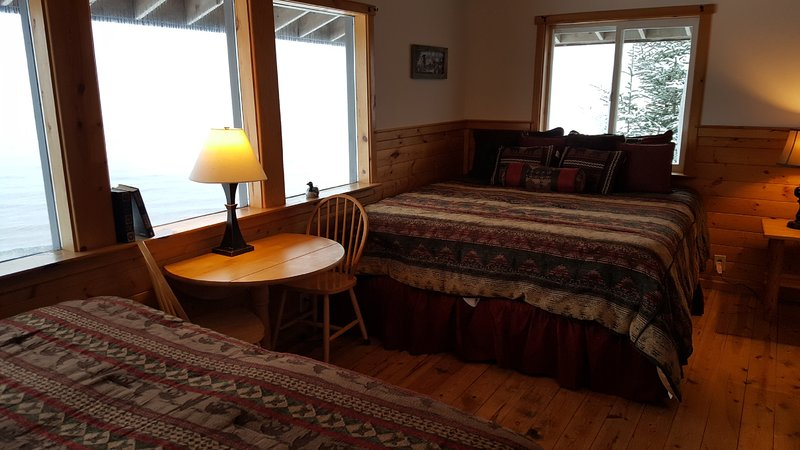 Superior Room #8 Bay  and Mountain Views . Great for couples or families