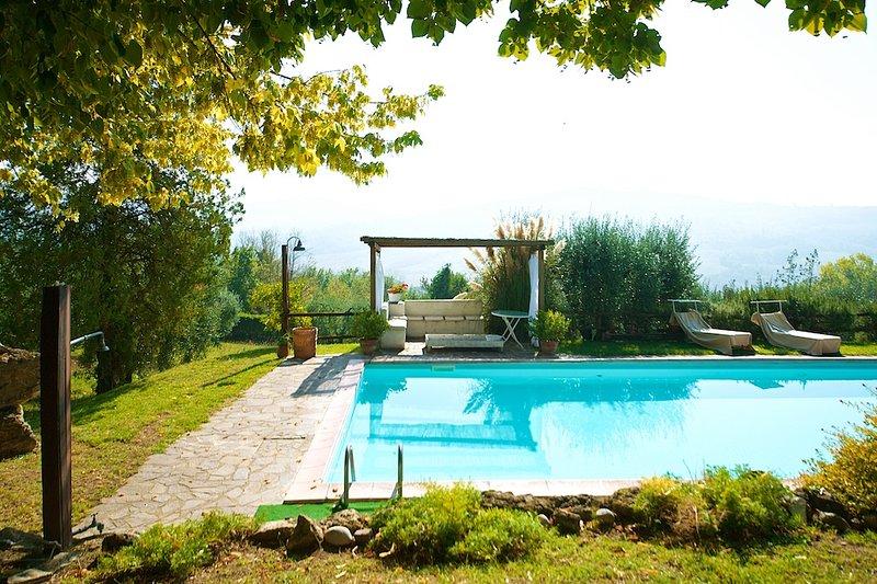 Umbría Villa en Teverina - swimminpool