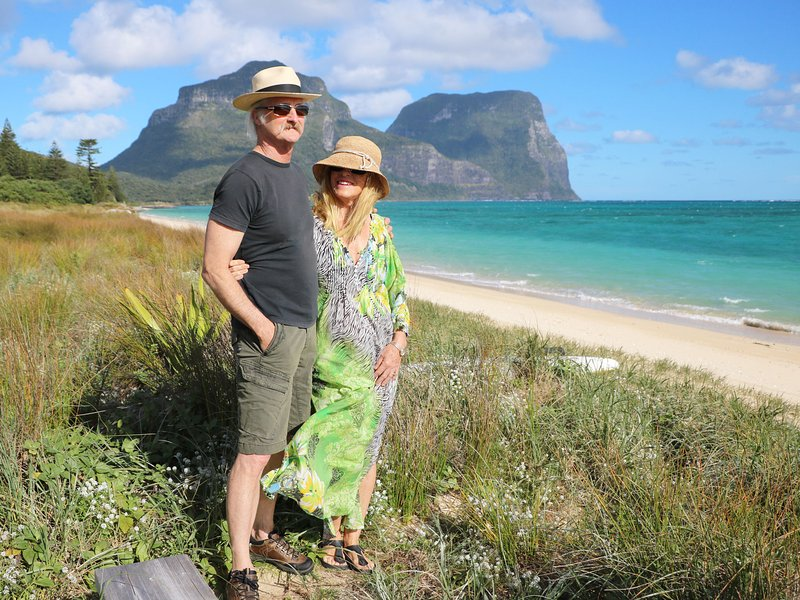 Lagoon Landing is beautifully located opposite Lord Howe's pristine (and deserted!) lagoon beach.