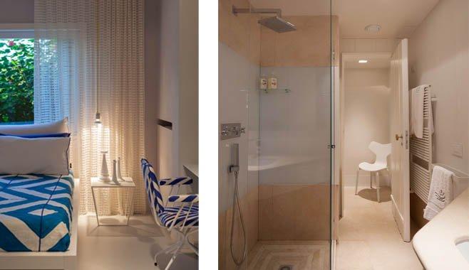 Sole, double bedroom with en suite bathroom