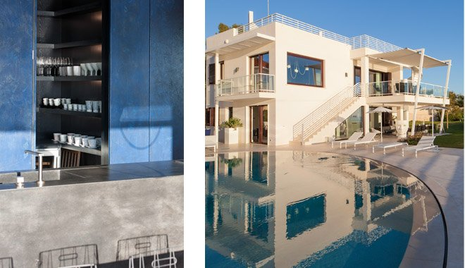 Sole, kitchen and swimming pool