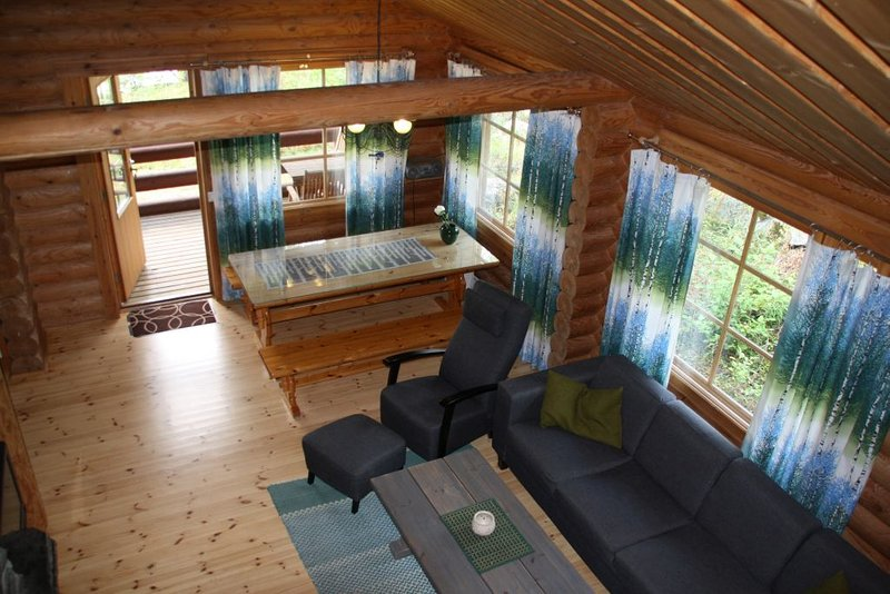 Lomalehto cottages - Villa Mäntyniemi, location de vacances à Sulkava