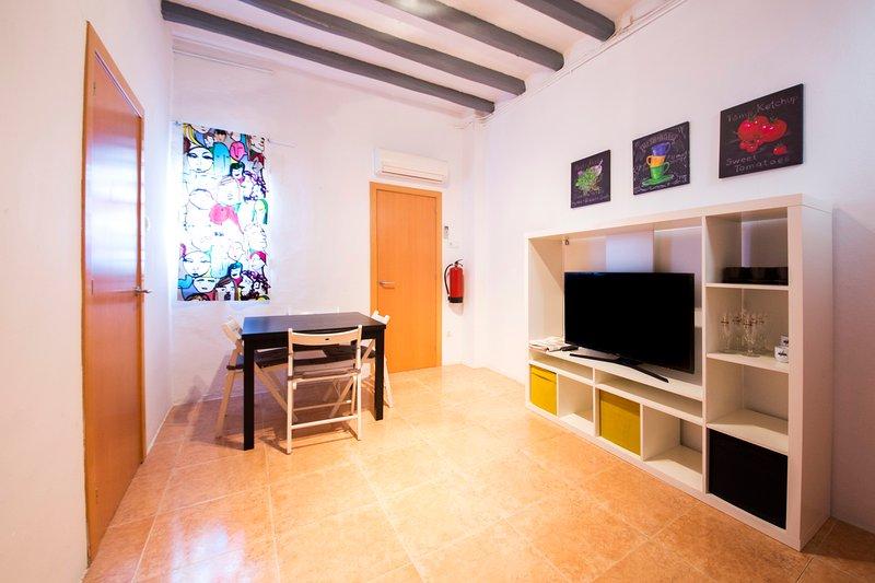 Reus Apartment 2- piso reformado en el centro de Reus, aluguéis de temporada em Vilaplana