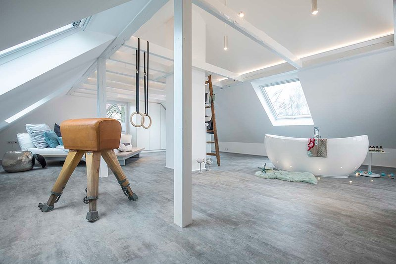 Design - Studiowohnung in Gütersloh mit Balkon, location de vacances à Bad Rothenfelde