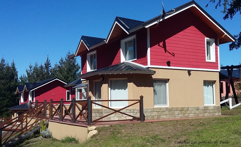 Cabañas Las gemelas de Puelo, holiday rental in Province of Chubut