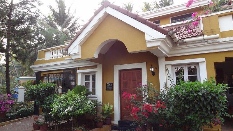 Front view Casa Jorge