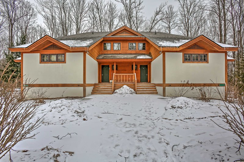 Enjoy the ultimate getaway at this Boyne Falls vacation rental townhome.