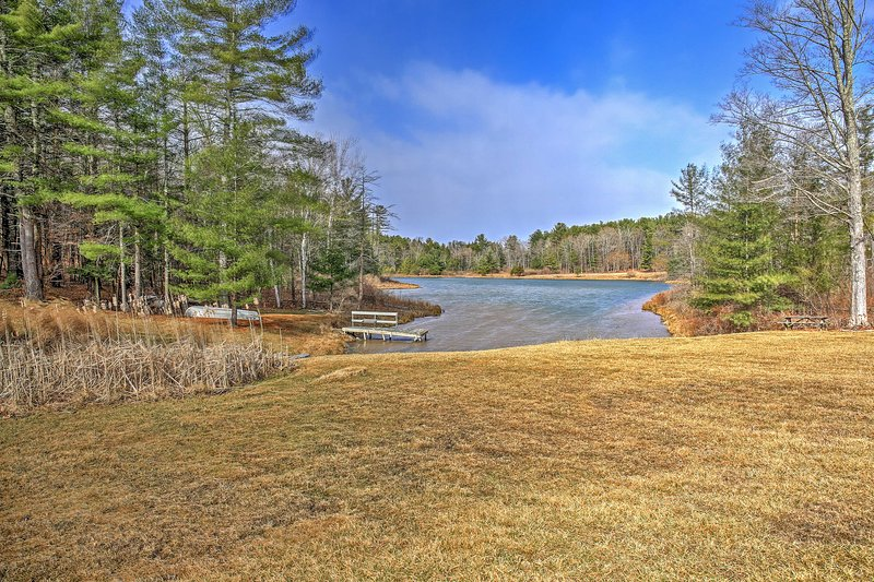 Let this lakefront property serve as your next retreat to East Durham, New York.