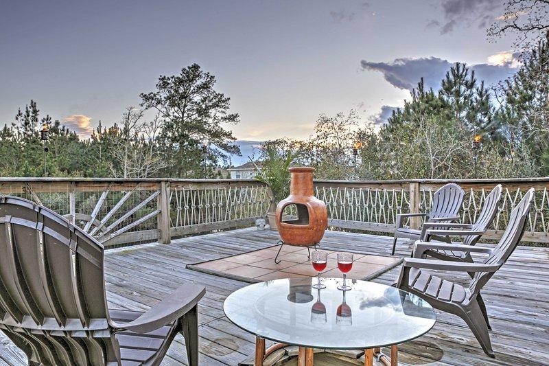 Experimenta lo último en relajación en esta preciosa casa Bay St. Louis alquiler de vacaciones!