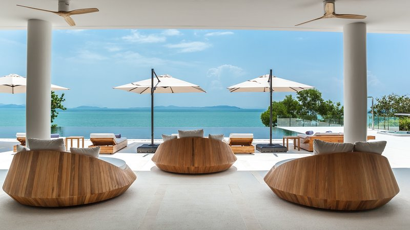 Villa Amarapura Phuket - Cape Yamu - Open Living Space