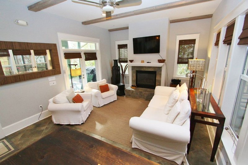 Family Room with Fireplace