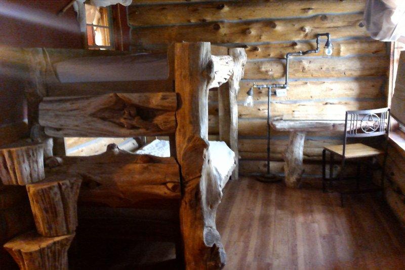 Common bunk area