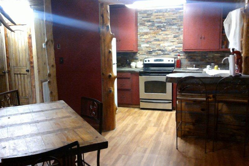 Kitchen/ dinning