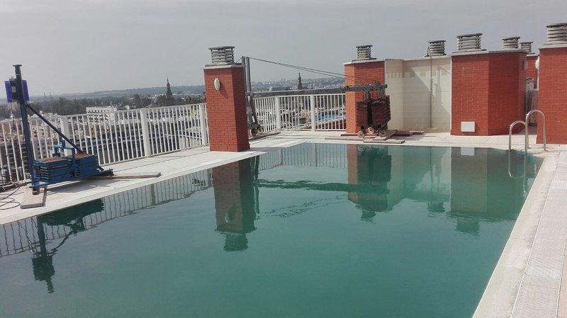 piso luminoso con piscina y vistas en el barrio nervi n