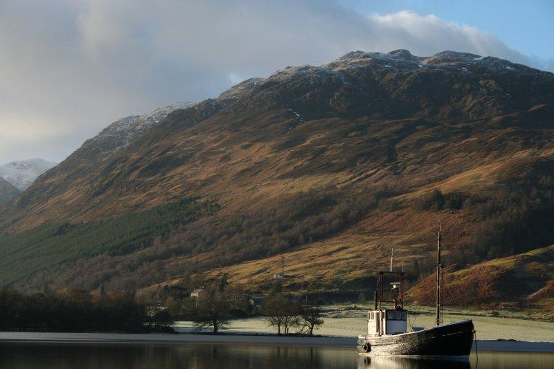 Loch Lochy, road to Highland Lodges