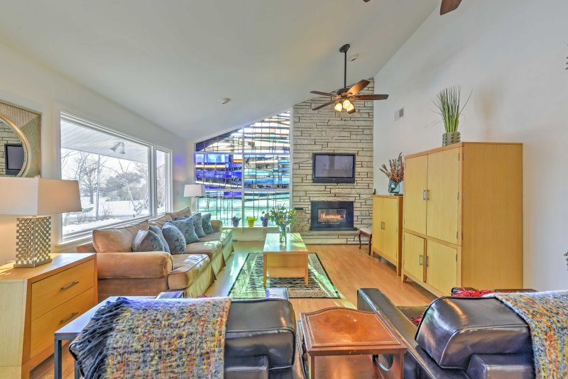 Have a relaxing getaway when you book this vacation rental house in Groton.