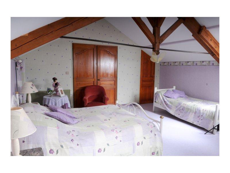 chambre romantique salle de bain ,wc ,climatisation,tv ,wifi