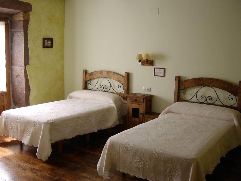 Donamaria_Gaztelu, Casa Rural Gamioa por habitaciones, vacation rental in Almandoz