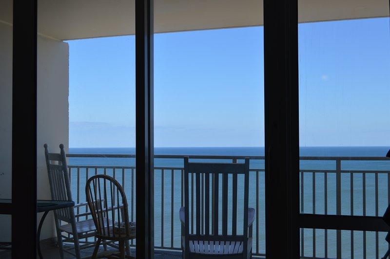 Private Balcony on Ocean Side