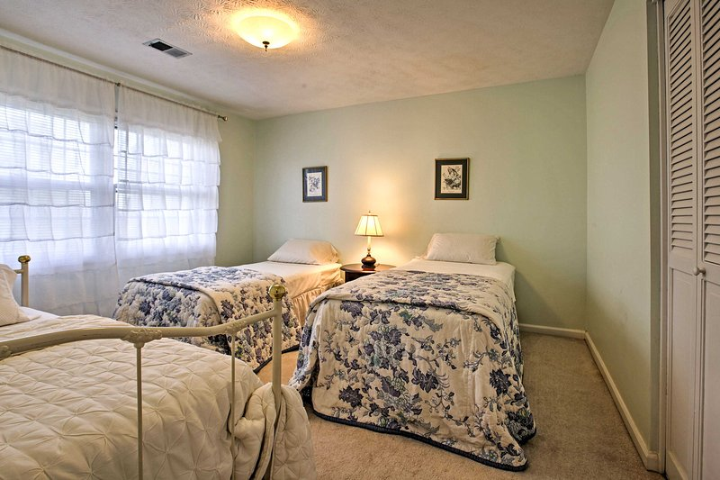 This room is perfect for smaller children or family members sharing a room.