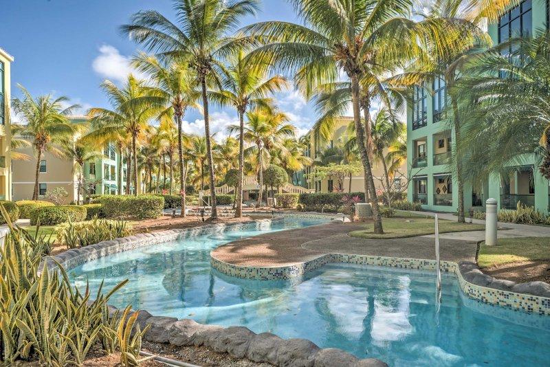 Aquatika Resort Condo w/ Access to 5 Pools & Beach, alquiler vacacional en Canovanas