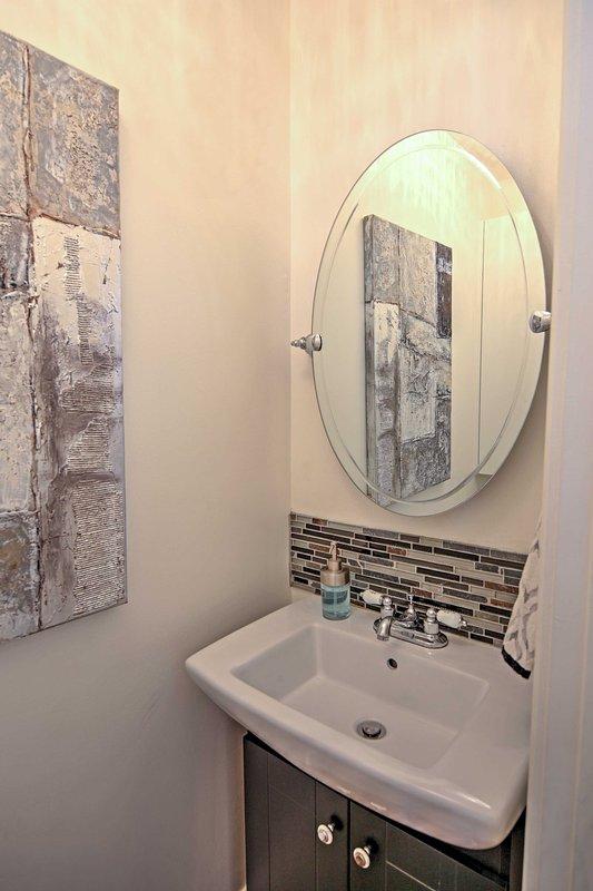 Esta propiedad cuenta con 1 baño completo para los huéspedes durante su estancia.