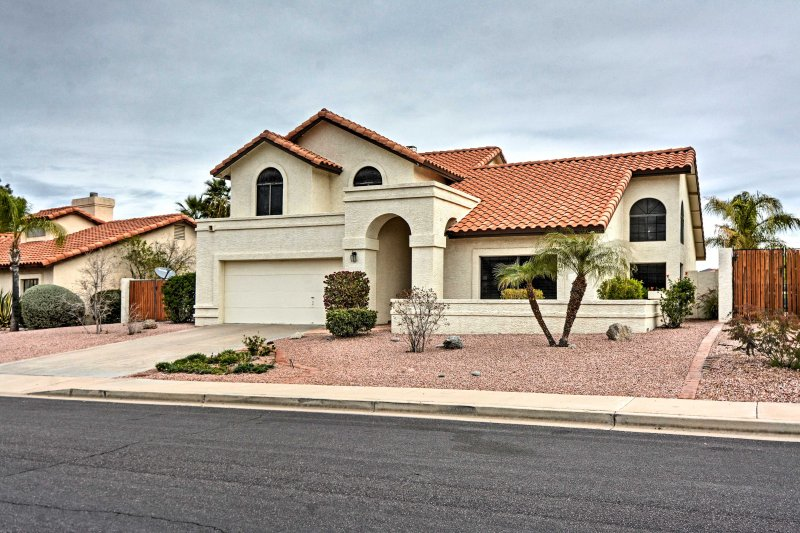 Visit Mesa and stay in luxury at this spacious vacation rental house!